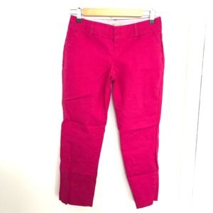 Banana republic fuchsia Martin fit pants 0 p